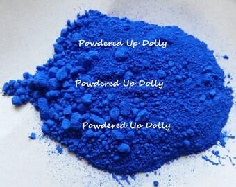 1g 1 Gram SAMPLE Ultramarine BLUE Matte Make Up Mp Cp Soap Cosmetic Pigment DIY Powder