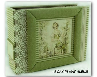 Handmade All Occasion Memory Album, Handmade Scrapbook, Mini Album, Handmade Photo Book, Custom Photo Album, Keepsake Album