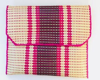 Straw clutch, clutch bag, handbag, market bag, straw bag, boho bag, raffia clutch, vintage bag, market bag, crochet bag, rattan bag, gift