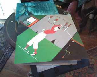 original Lepas Golf poster nice! 24 inch