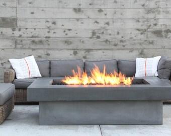 Olson Fire Table - Concrete Firepit