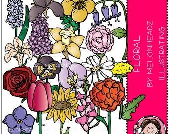 Floral clip art - Combo Pack