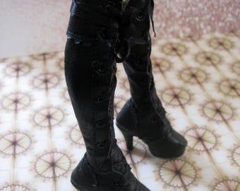 Baroque heel boots  - for msd minifee (heel feet)