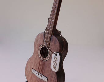 Guitar - miniature replica
