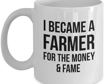 Farmer Gift, Farmer Mug, Gift For Farmer, Personalized Farmer, Coffee Mug, Country mug, Farmer Gift, Farmer, Farming, Farmer present, Funny