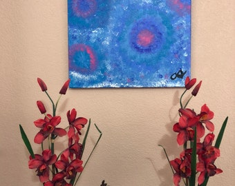 Seaflowers; abstract painting