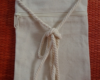 Blank Canvas Purse / Decorate Your Own