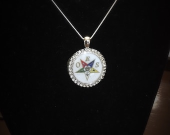 OES - Order of the Eastern Star Pendant and Necklace