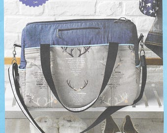 Simply Sewing - EASY OVERNIGHT BAG  - Sewing Pattern - Uncut