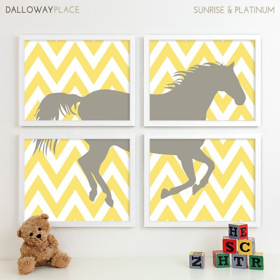 Baby Boy Nursery Print Art Cowboy Nursery Decor Kids Wall