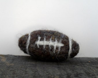Cat toy catnip Football, needle felted