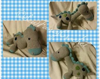 Brontosaurus, Stuffed Brontosaurus, Stuffed Animal, Stuffed Dino, Dino, Dinosaur, Stuffed Dinosaur, Toy, Stuffed Toy