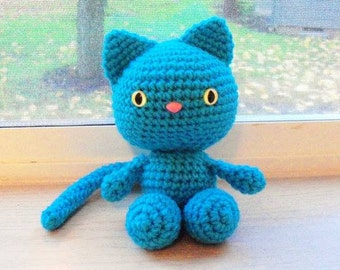 MADE TO ORDER Playful Kitten Doll - Your Choice of Colors