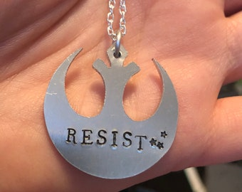 Rebel Alliance Star Wars Resist Pendant