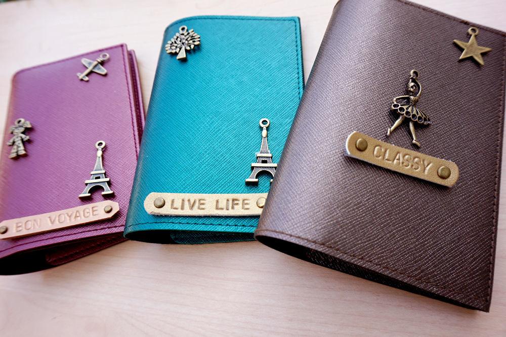 passport covers passport case personalized wedding gift