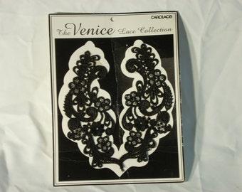 beautiful black Venice Lace by carolace