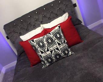 Handmade Pattern Effect Cushion Cover