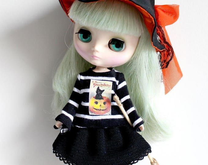 Middie Blythe HALLOWEEN WITCH Dress Set Limited Edition