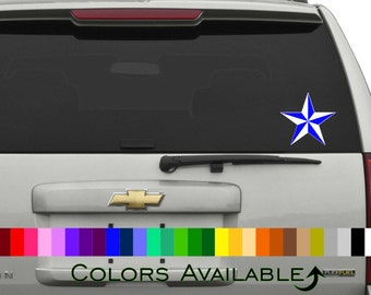 Nautical Star Car Decal