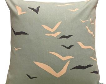 Scion Flight Powder Blue Cushion Cover