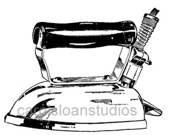 Thermofax Screen Vintage Iron