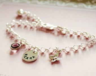 Sweet christening jewellery baptism bracelet bracelet-engraved
