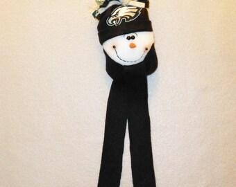 Philadelphia Eagles NFL Football Snowman Ornament – GO EAGLES!