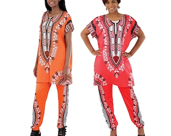 Traditional Dashiki Pant Set