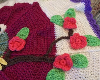 Toddler Round Owel Blanket