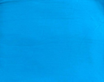 Jersey knit, uni blue