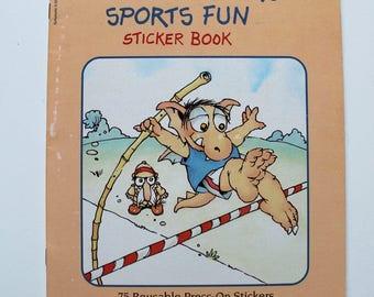 Mercer Mayer Little Monster's Sports Fun Sticker Book 1984