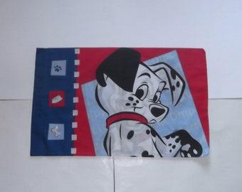 101 Dalmatian Puppies Vintage Pillowcase Domino & Little Dipper