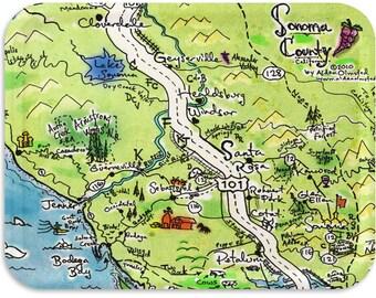 """Sonoma County Tray 17""""x13"""""""