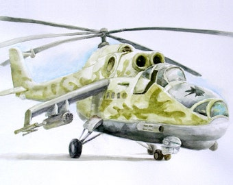 A Broken Helicopter,  Holiday present / birthday present / art collection