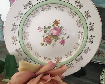Beautiful bread & butter midwinter stylecraft Staffordshire england plate