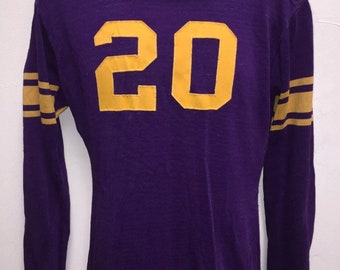 Quality Powers Athletic Wear 1940's Authentic Football Jersey #20 Size 40