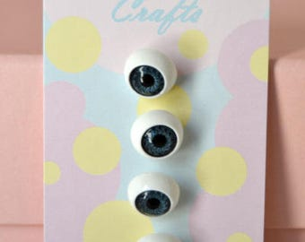1/2 Inch Eyeball Shank Buttons: Style 4