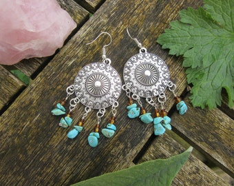 Beautiful Bohemian Dangle Earrings