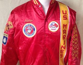 Marine Corps Jacket Etsy