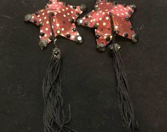 Red/GoldStar Pasties