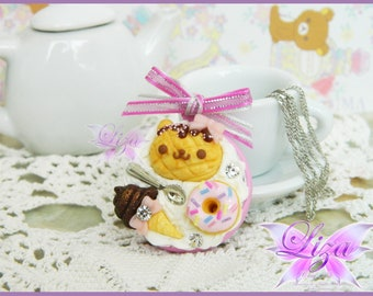 Sweet Necklace / Kawaii Necklace / Miniature Food