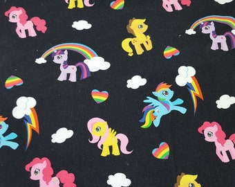 Unicorn Friends *Made to Order, CUSTOM, Fitted Cloth Diaper* hybrid fitted, cloth diaper, ponies, rainbow, rainbow baby, unicorn baby, nappy