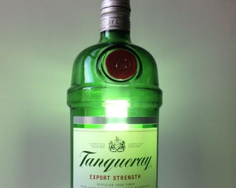 Bottle Recycle pendant lamp from Gin Tanqueray LT1