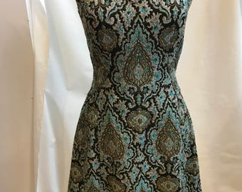 60s Brocade dress