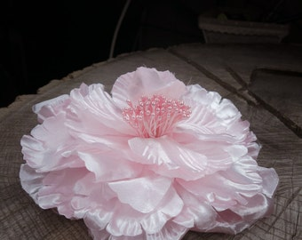 Large Peony Hair Clip ~1 pieces #100793
