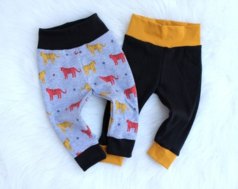 Baby Boy Leggings Outfit - Baby Pants - Newborn Pants - Kid Pants - Baby Boy Clothes - Tiger Baby Leggings - Modern Baby Clothes