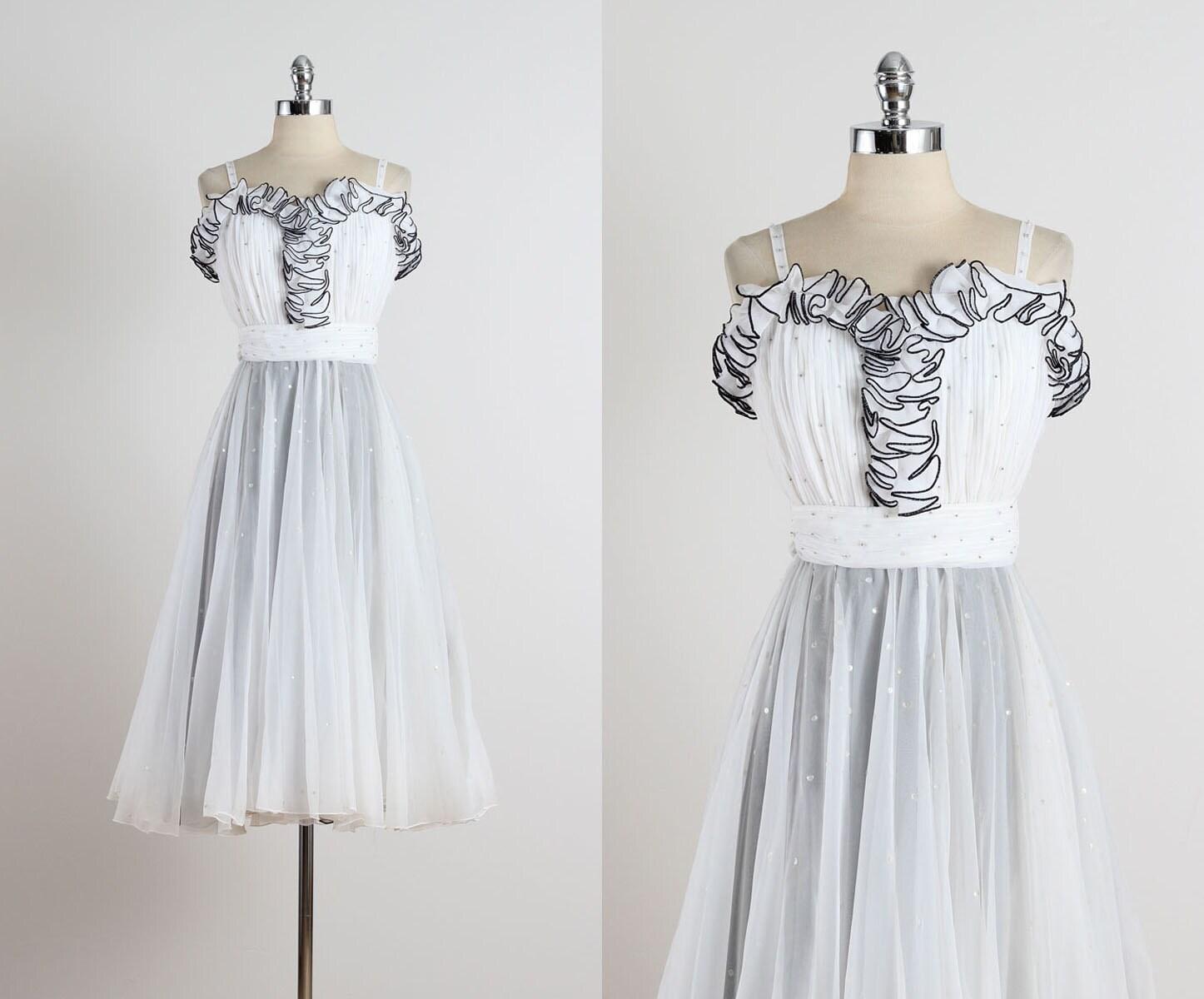 Jack Bryan. Jahrgang 1970 Kleid. Jahrgang Party-Kleid. 4948