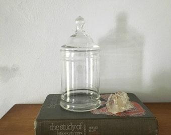 large glass apocathary jar. wedding apothecary terrarium storage glass. boho kitchen storage bathroom interior design bohemian home decor