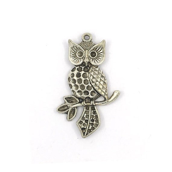 """Great charm - silver colored """"Owls"""""""