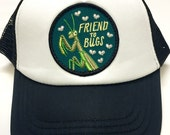 "Toddler/Kids Trucker Hat- with ""Friend to Bugs&quo..."